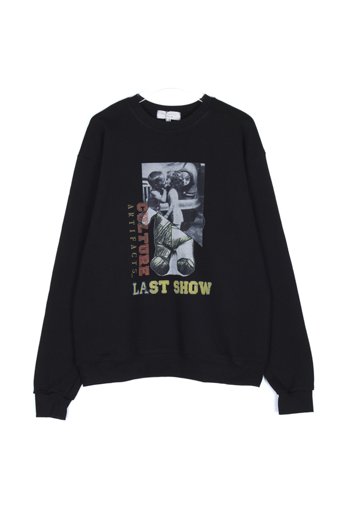 Culture LA Bear Crewneck_ Black