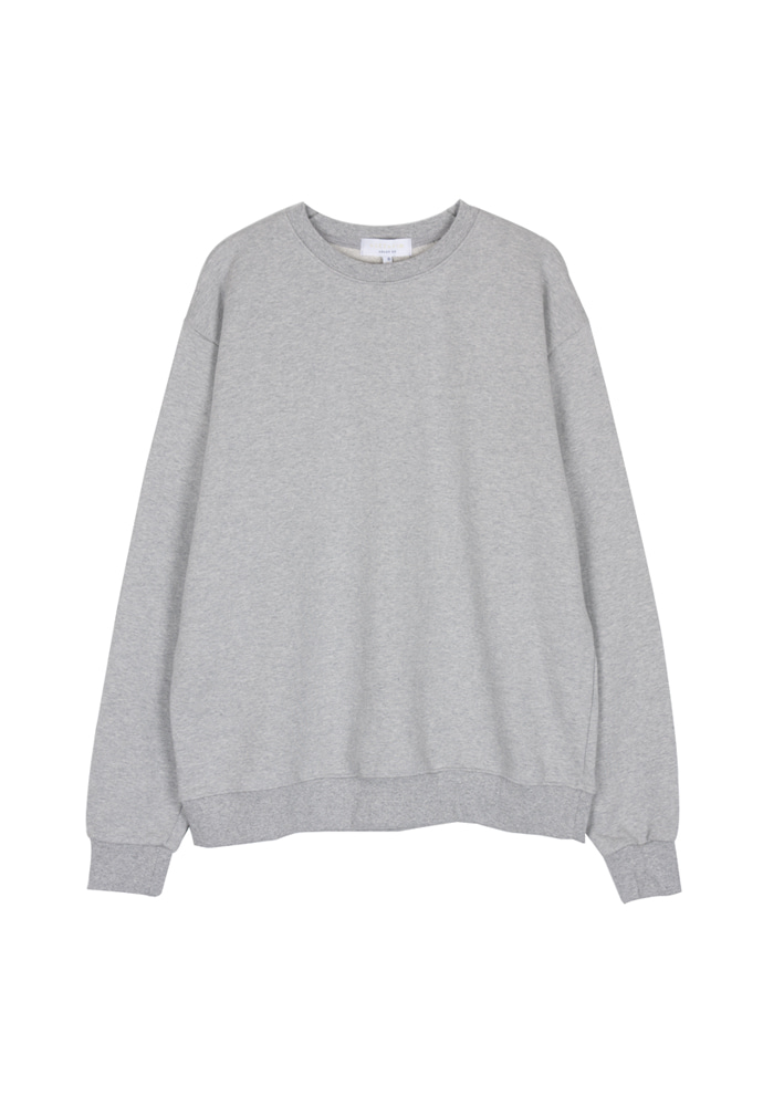 Single Crewneck_ Grey