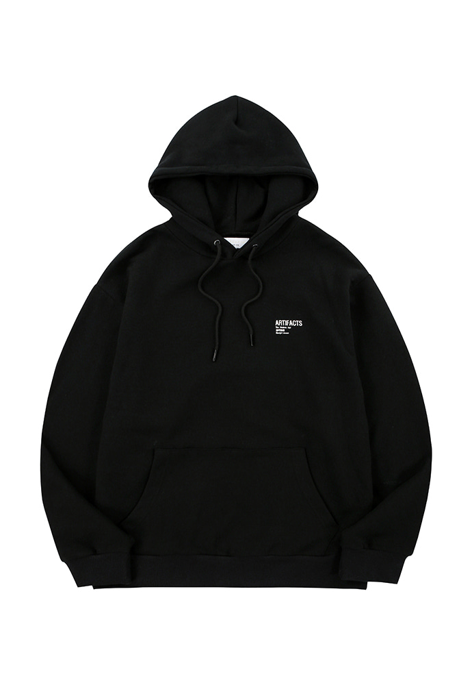 ARTIFACTS Base Logo Hoodie_ Black