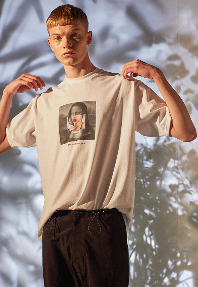 The Modern Age Collage Tee 001_ White