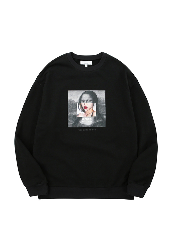 The Modern Age Collage Sweat 001_ Black