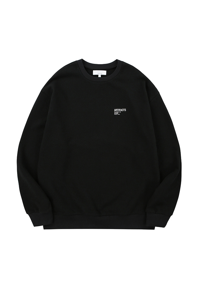 ARTIFACTS Base Logo Sweat_ Black