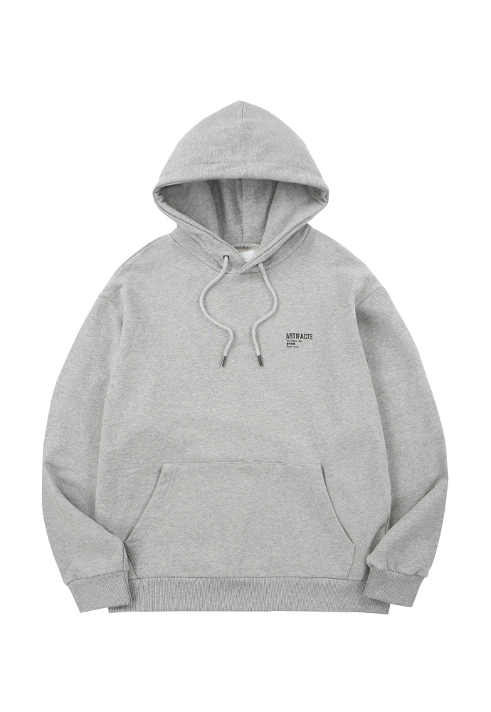 ARTIFACTS Base Logo Hoodie_ Grey