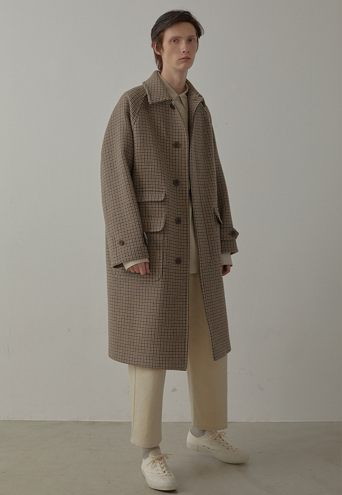 Balmacaan Coat_ Check