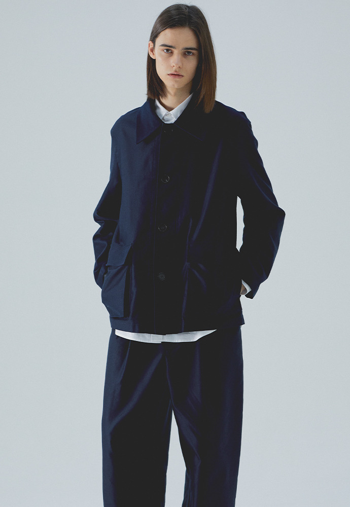 Field Jacket_ Dark Navy