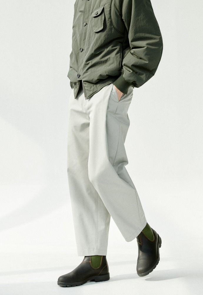 Side Tucked Pants_ Dove