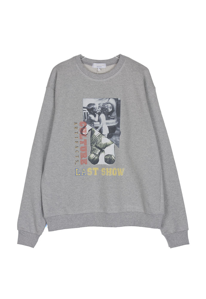 Culture LA Bear Crewneck_ Grey