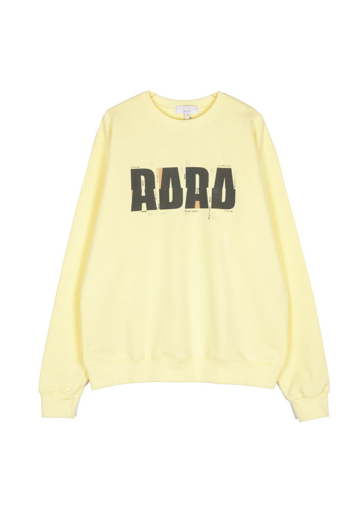 DADA Crewneck_ Yellow