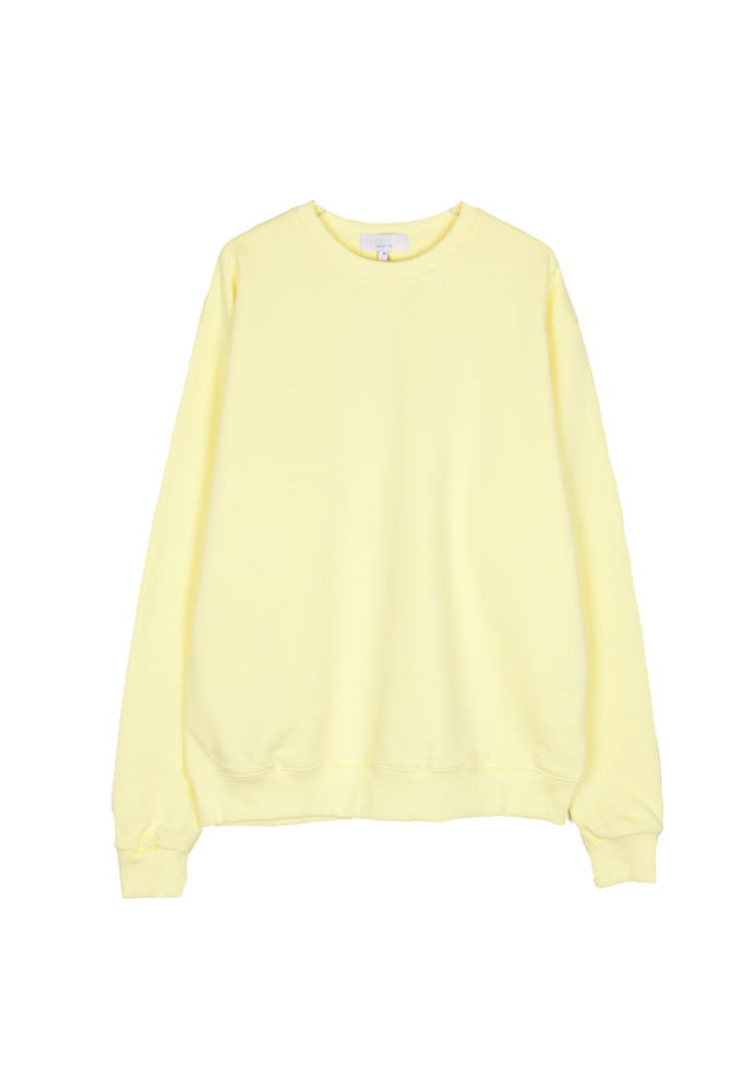 Single Crewneck_ Yellow