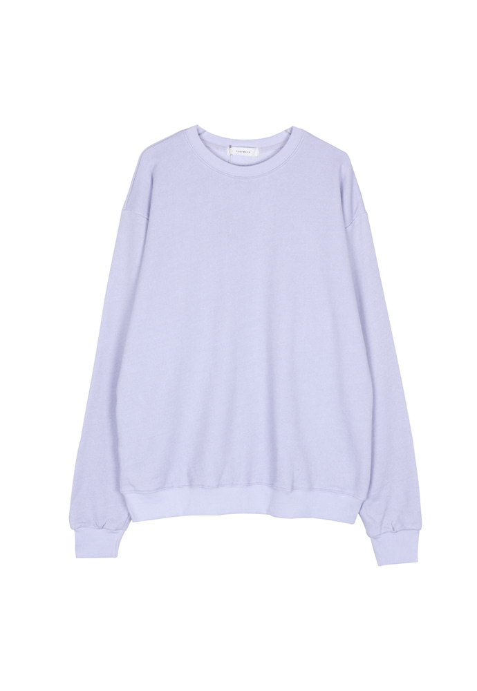 Single Crewneck_ Lavender
