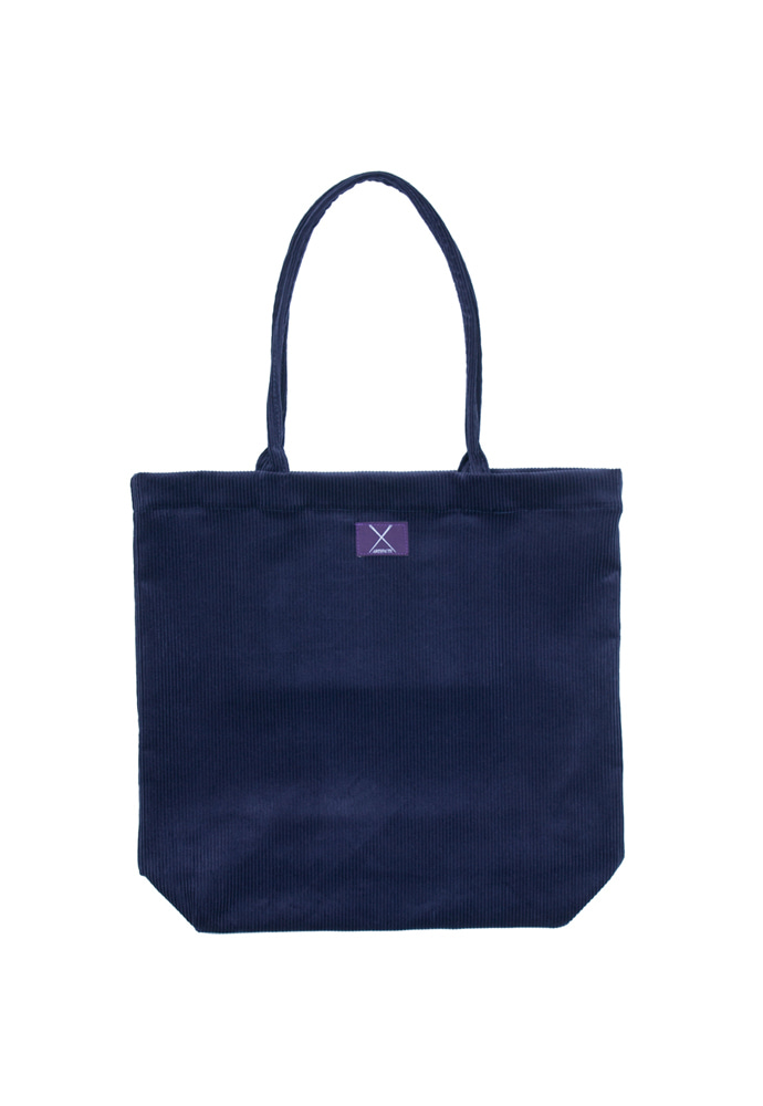 Corduroy Eco Bag_ Navy