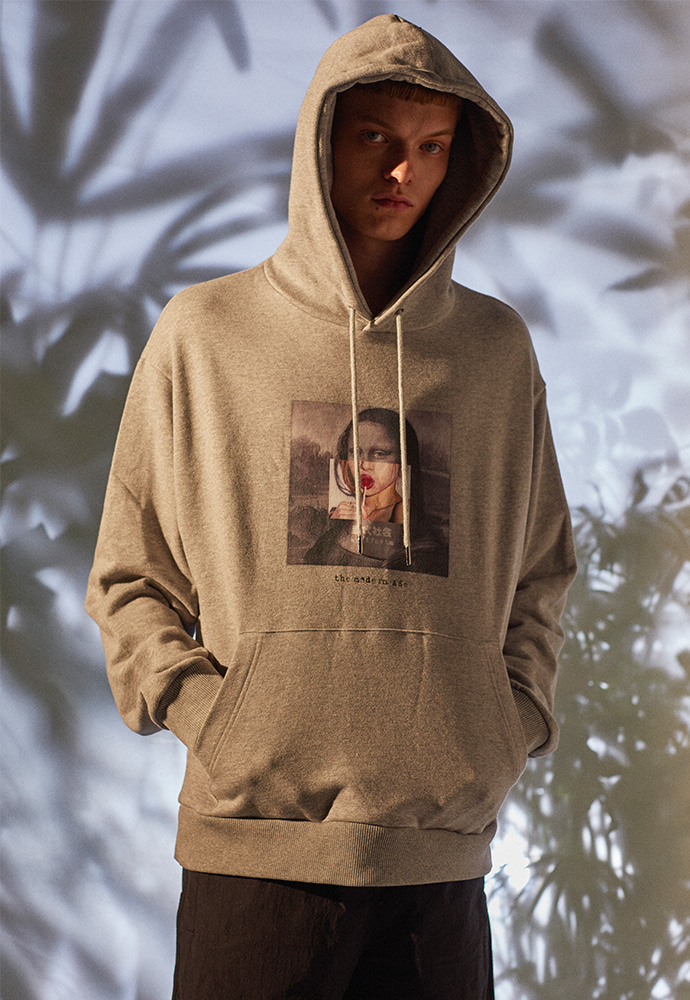 The Modern Age Collage Hoodie 001_ Grey