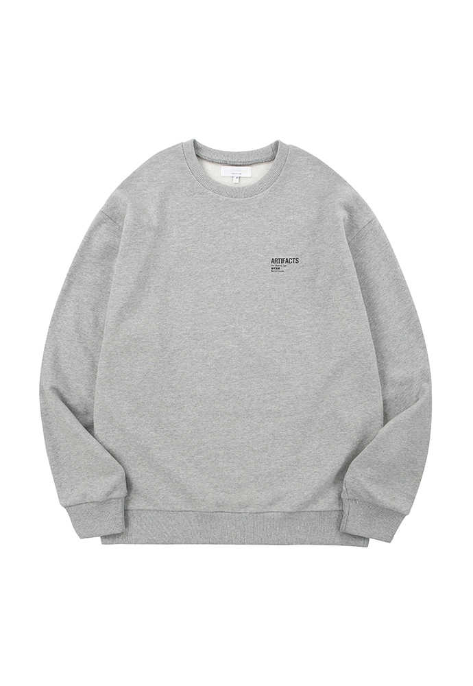 ARTIFACTS Base Logo Sweat_ Grey