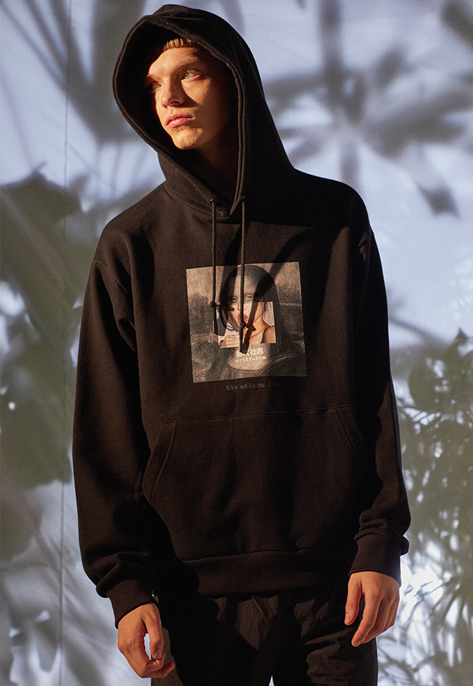 The Modern Age Collage Hoodie 001_ Black