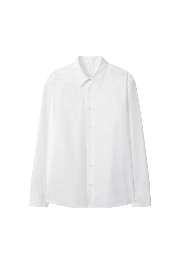 Minimal Oversized Shirt_ White