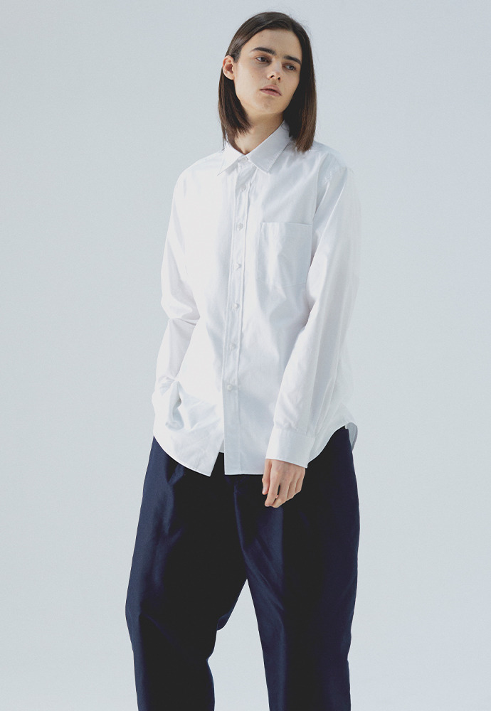 Comfort Oxford Shirts_ White