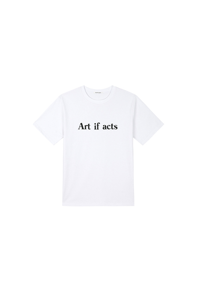 Art if acts Logo T-shirts_ White