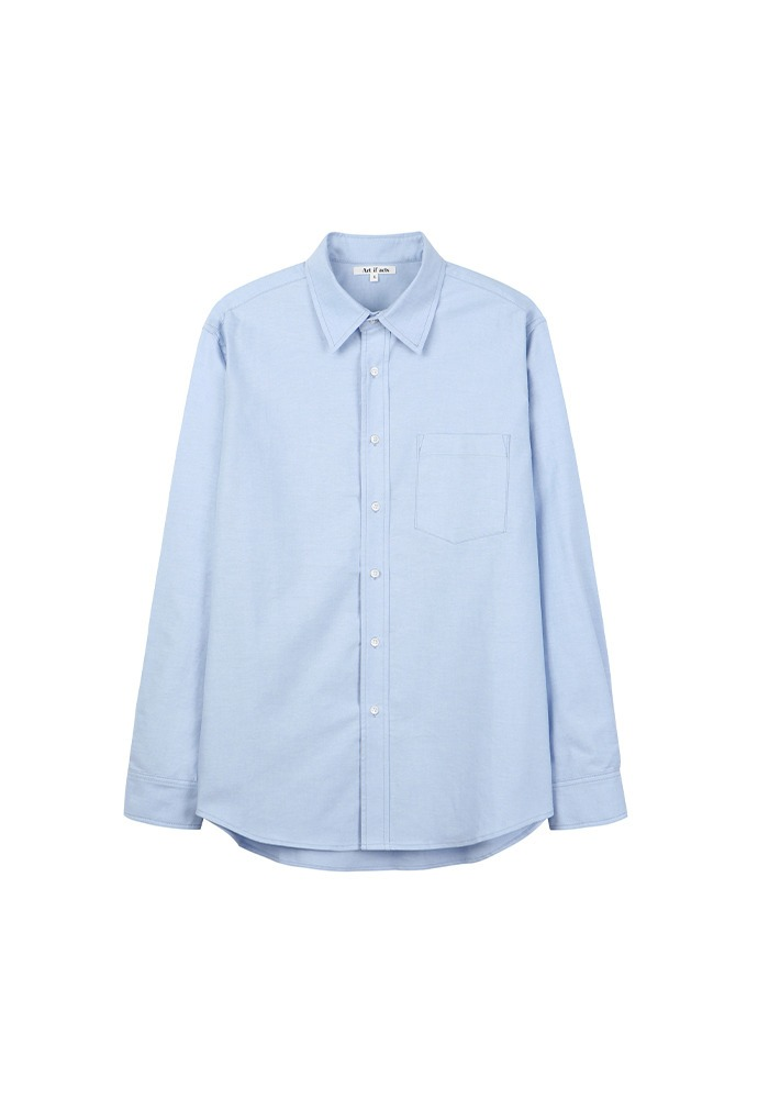 Comfort Oxford Shirts_ Sky Blue