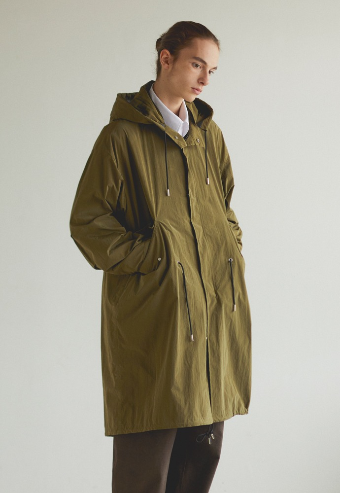 Reversible Waterproof Fishtail Shield_ Olive