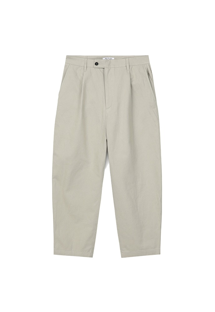 One Tuck Curve Pants_ Dove