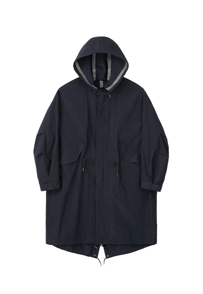 Reversible Waterproof Fishtail Shield_ Navy