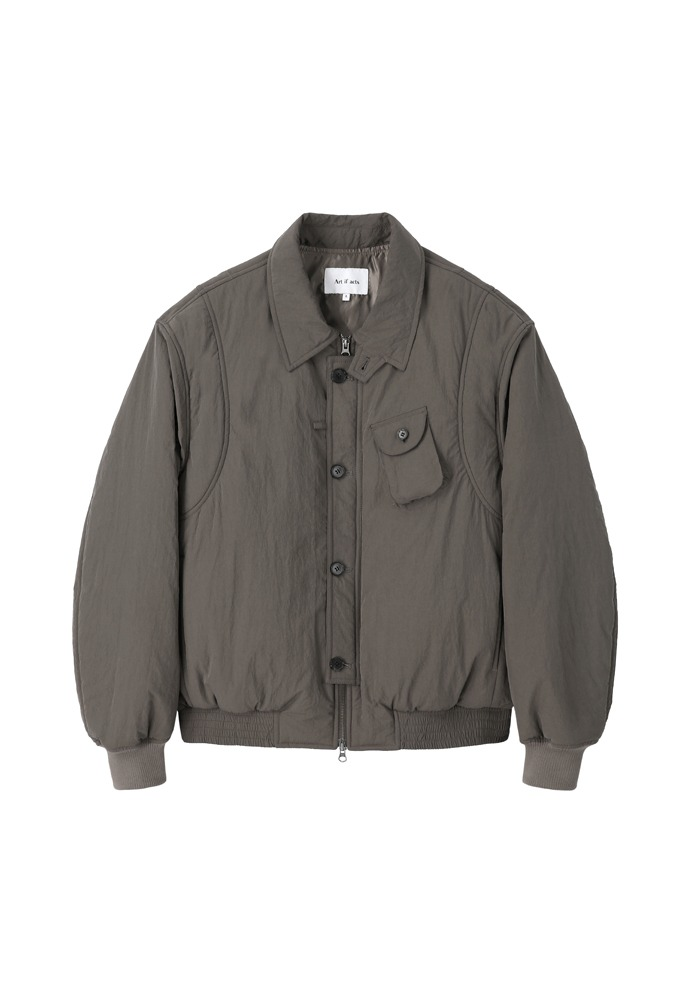 Solid Pocket MA-1_ Brown