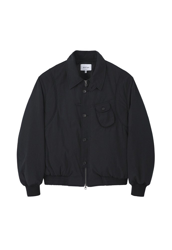 Solid Pocket MA-1_ Black