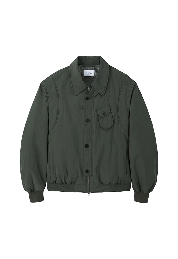 Solid Pocket MA-1_ Moss Green
