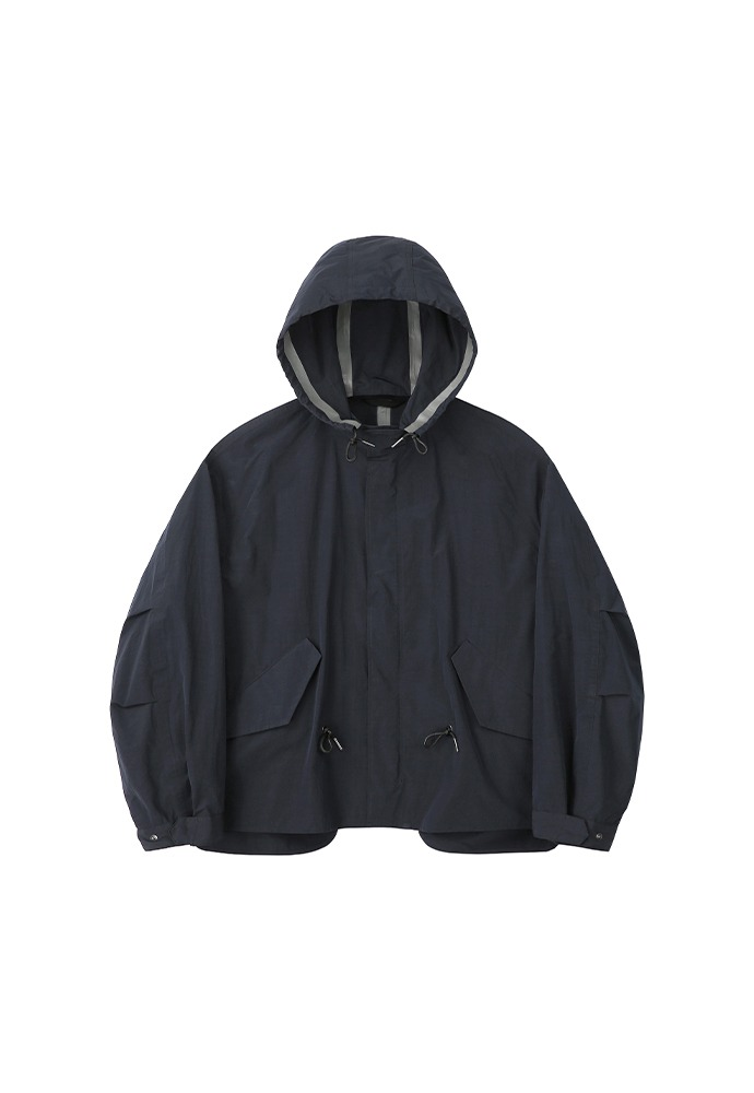 Half Reversible Waterproof Fishtail Shield_ Navy